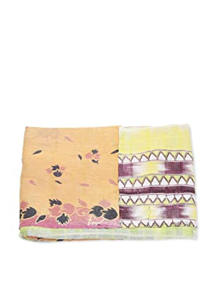 Mili Designs NYC One of a Kind Vintage Kantha Throw, #121