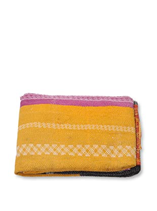 Mili Designs NYC One of a Kind Vintage Kantha Throw, #281