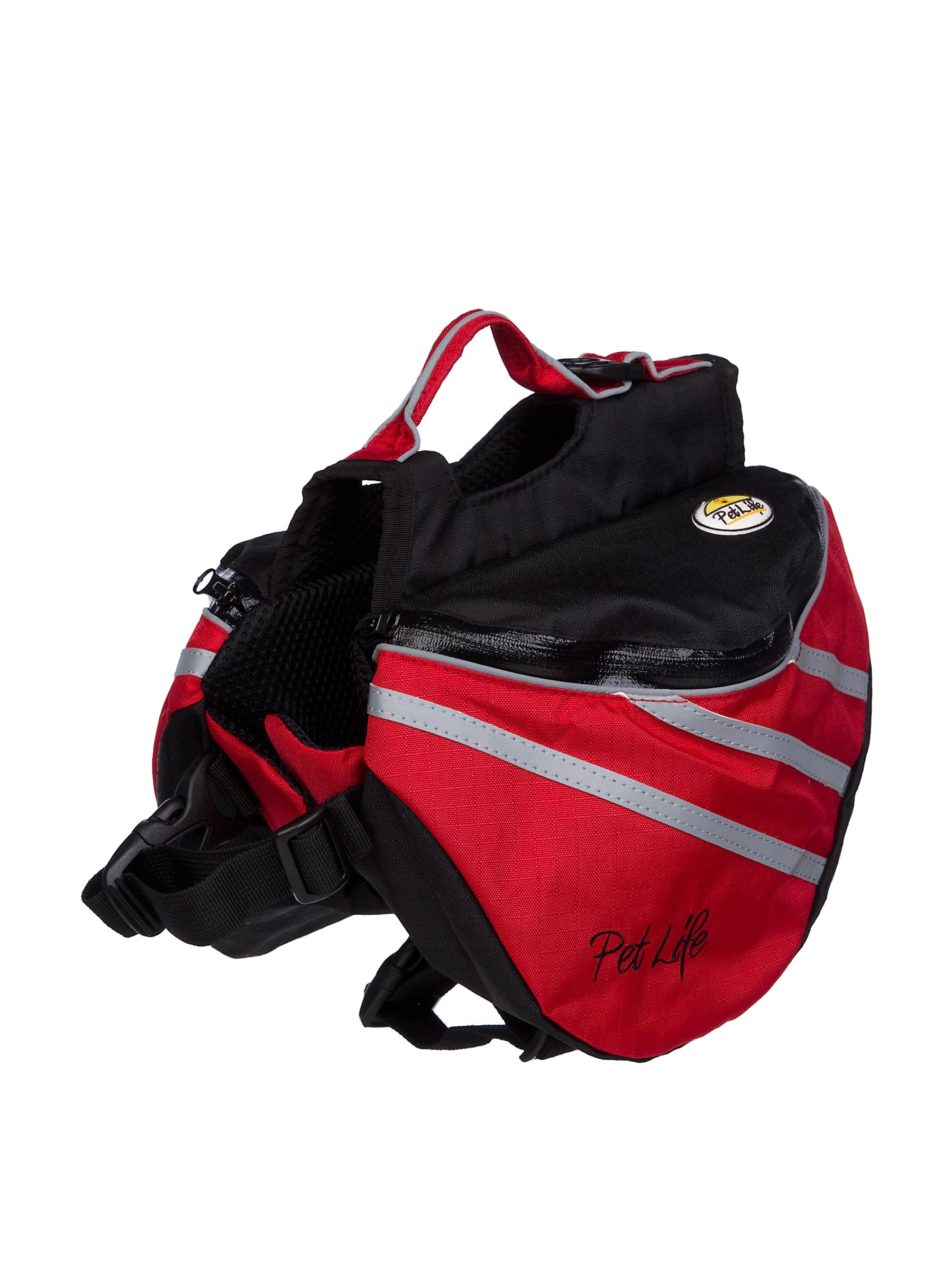Pet Life Everest Backpack (Red)