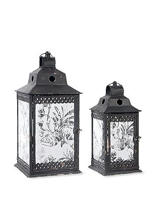 A&B Home Set of 2 Lanterns