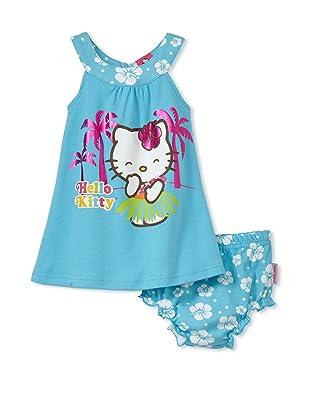 Hello Kitty Girls 2-Piece Sundress Set (Teal)