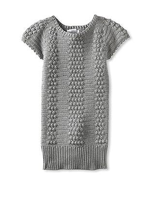 Charabia Girl's Knit Tunic (Grey)