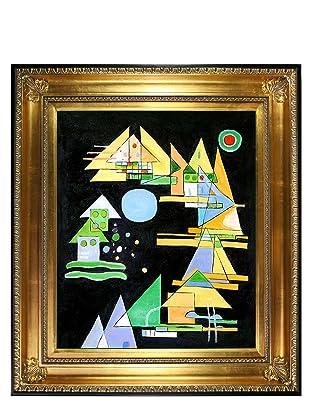 Kandinsky - Spitzen in Bogen (Points in the Elbow)