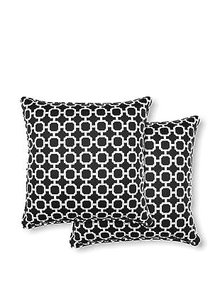 Dakota Set of 2 Hockley Pillows (Noir)