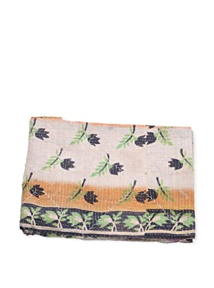 Mili Designs NYC One of a Kind Vintage Kantha Throw, Multi, 50