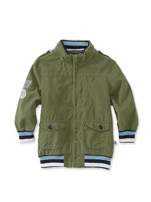 KANZ Boy's Zip-Up Jacket (Olive)