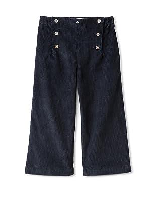 Je suis en CP! Boy's Sailor Pants (Navy Corduroy)