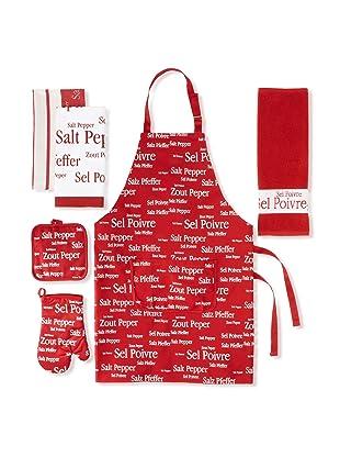 Winkler Sel & Poivre Kitchen Essentials Set (Red)