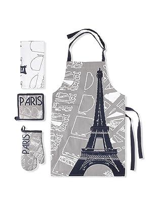 Winkler Paris Eiffel Kitchen Essentials Set (Grey)