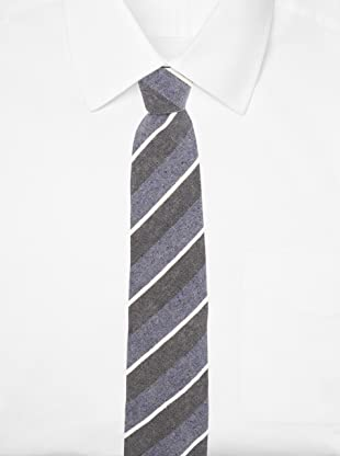 E.Tautz Men's Trinity Tie (Blue/graphite)
