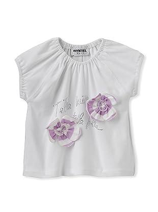 Sonia Rykiel Baby Flower Tee (White)