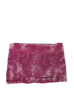 Mili Designs NYC One of a Kind Vintage Kantha Throw, #182