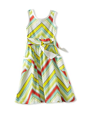 Amoretti Girl's Fancy Free Dress (Zig-Zag)