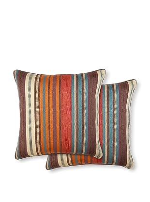 Dakota Set of 2 Flare Pillows (Fiesta)