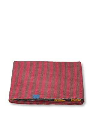 Mili Designs NYC One of a Kind Vintage Kantha Throw, #287