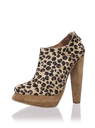 Plomo Women's Valentina Bootie (Beige Leopard)