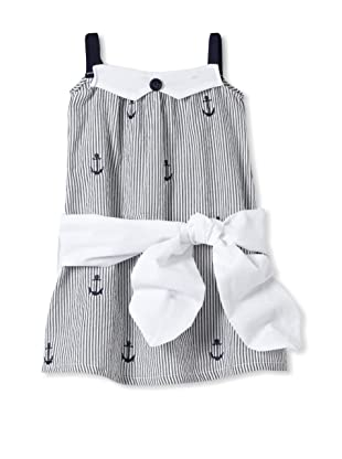Upper School Girl's Sleeveless Dress with Tie (Anchor)