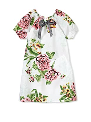 Mad Sky Baby 2pc Raglan Sleeve Dress & Hat Set (Bedford Floral)
