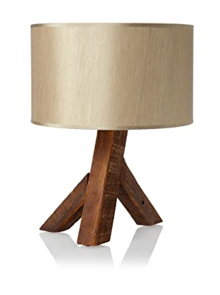 The Homeport Collections Unysn Elm Table Lamp (Sand)