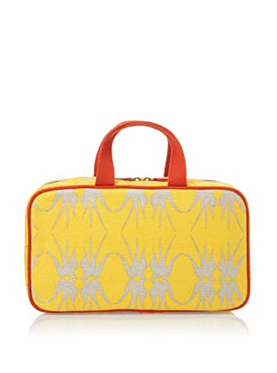 Loquita Women's Birds Travel Case (Yellow)