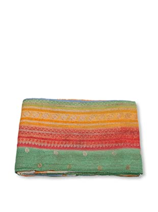 Mili Designs NYC One of a Kind Vintage Kantha Throw, #167