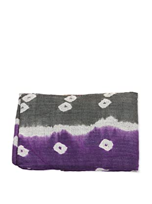 Mili Designs NYC One of a Kind Vintage Kantha Throw, #125