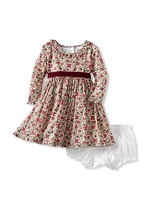 Baby CZ Girl's Audrey Dress (Meadow Berry)