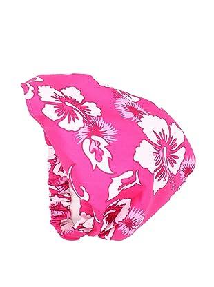 TroiZenfants Girl's Floral Head Scarf (Pink Floral)