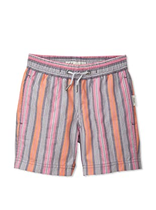 Onia Boy's Charlie Trunks (Purple/Orange Stripe)