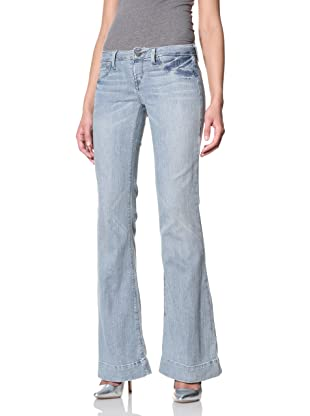 SOLD Denim Women's High Heel Bell Flare Jean (Light Denim)