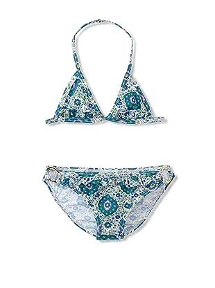 Eberjey Mini Girl's Alexa Blue Lagoon Bikini (Blue)