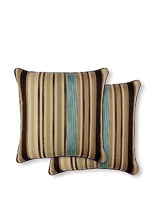 Dakota Set of 2 Flare Pillows (lake)