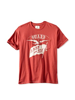 Tailgate Men's Guard Land & Sea T-Shirt (Faded Red)
