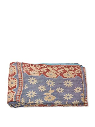 Mili Designs NYC One of a Kind Vintage Kantha Throw, #189