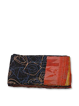 Mili Designs NYC One of a Kind Vintage Kantha Throw, #211