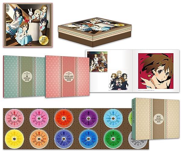 K-ON! MUSIC HISTORY'S BOX [Box set]