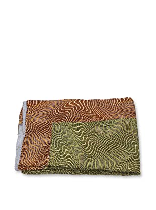 Mili Designs NYC One of a Kind Vintage Kantha Throw, #212