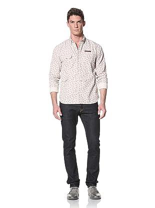 Marshall Artist Men's Multi Pocket Trail Shirt (Cream Floral)