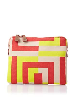 Loquita Women's Square-n-Square iPad Sleeve (Lime)