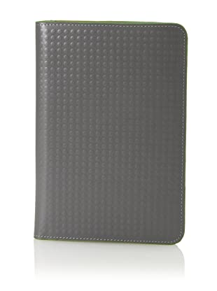 J.Fold Unisex Altrus Kindle Fire Cover (Grey With Green Trim)