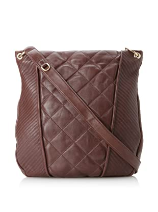 Christopher Kon Women's Adele Quilted Cross-Body (Brown)