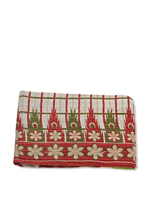 Mili Designs NYC One of a Kind Vintage Kantha Throw, #157