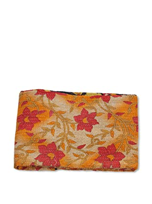 Mili Designs NYC One of a Kind Vintage Kantha Throw, #159