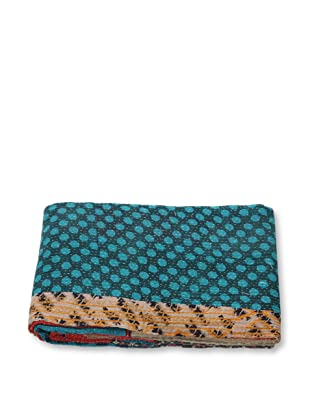 Mili Designs NYC One of a Kind Vintage Kantha Throw, #267