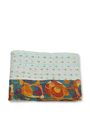 Mili Designs NYC One of a Kind Vintage Kantha Throw, #152
