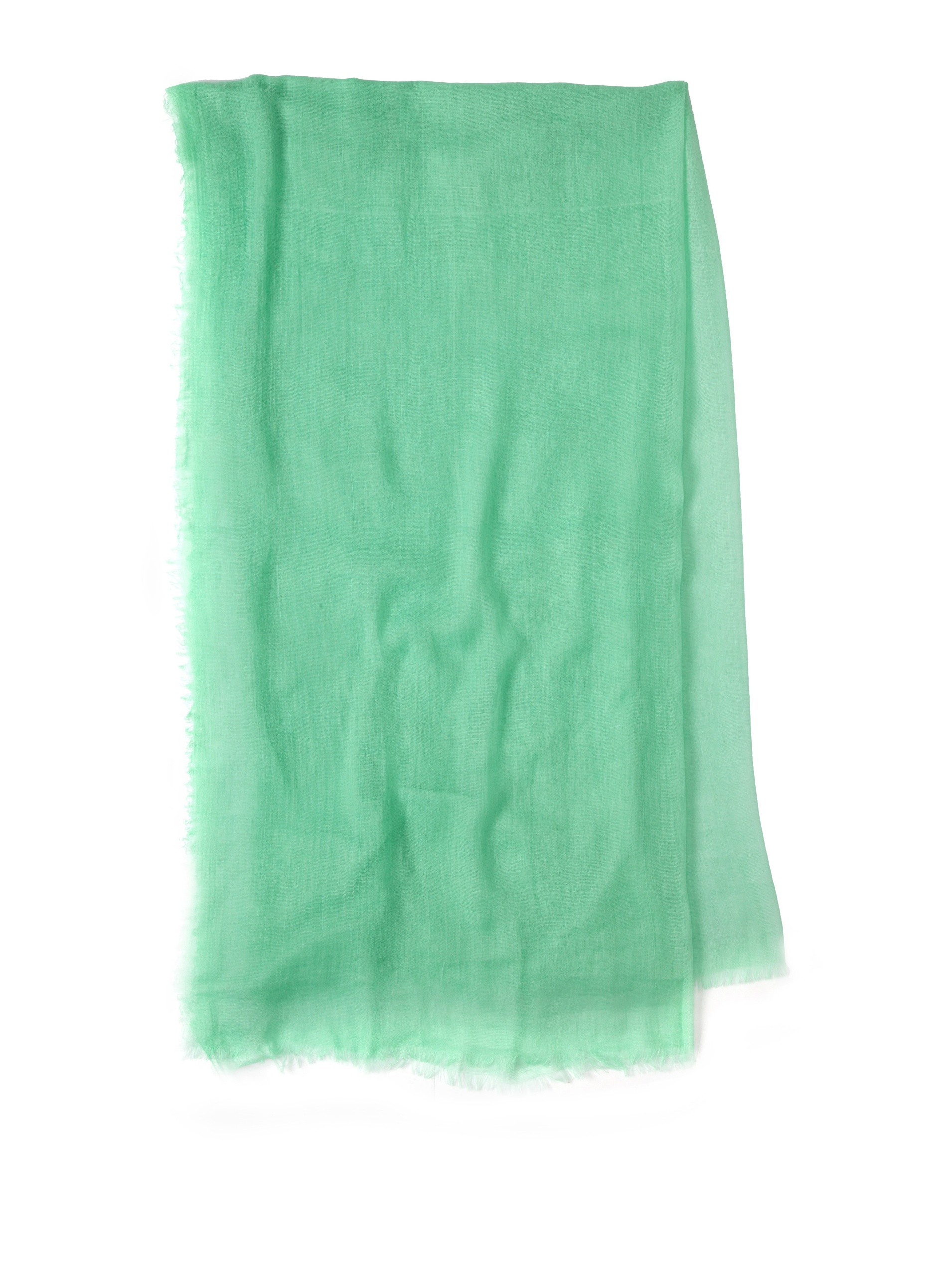 Carolina Amato Women's Cotton Gauze Wrap (Mint)