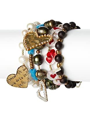 Mercedes Salazar Multi-Colored Beaded Bracelet Set