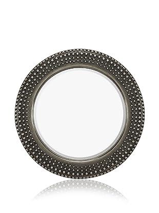 Jasper Mirror (Antique Silver/Black)