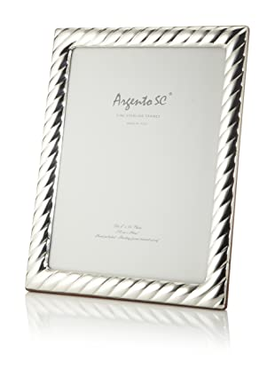 Argento SC Braid Sterling Silver Frame, 8