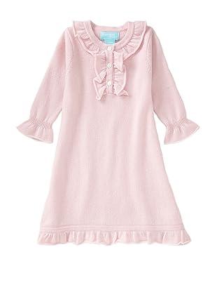 Bambeeno Girl's Ruffle-Trimmed Dress (Light Pink)